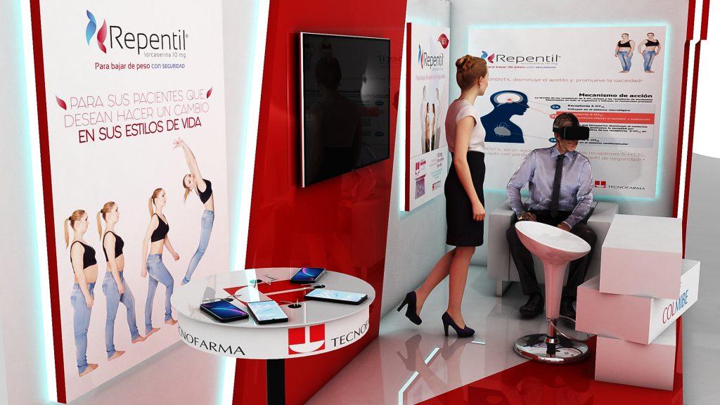 Diseño Evento Virtual Tecnofarma