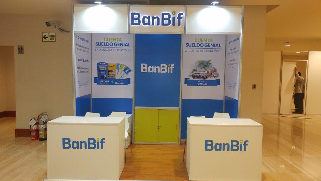 Stand Ban Bif frontal